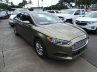 Check out this 2013 Ford Fusion SE. Its Automatic