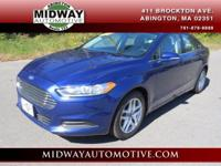 CARFAX One-Owner. Deep Impact Blue 2013 Ford Fusion SE