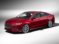 Red 2013 Ford Fusion SE FWD 6-Speed Automatic EcoBoost