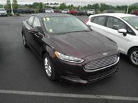 Red 2013 Ford Fusion SE FWD 6-Speed EcoBoost 1.6L I4