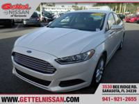 Options:  2013 Ford Fusion Se|White|**One Owner** Clean