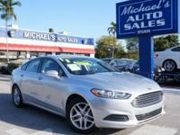 Options:  2013 Ford Fusion Se|Silver|Michael's Auto