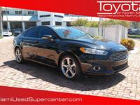 Options:  2013 Ford Fusion Se|Black/|V4 1.6L |56320