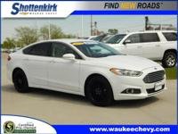 Options:  2013 Ford Fusion Se|Se 4Dr Sedan|1.6L|4