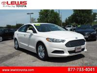 Options:  2013 Ford Fusion Se|Se 4Dr Sedan|2.5L|4