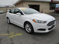 Options:  2013 Ford Fusion 4D Sedan Se 1.6L