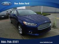 Don Bohn Ford presents this 2013 FORD FUSION 4DR SDN SE