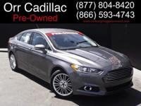 2013 Ford Fusion Sedan SE Our Location is: Orr Preowned