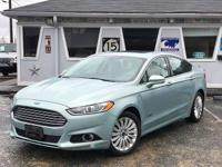 2013 Ford Fusion Titanium Hybrid/Electric