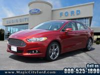 For a smoother ride, opt for this 2013 Ford Fusion