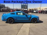2013 Ford MustangBoss 302 Grabber Blue Dark Charcoal,