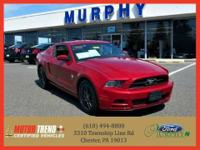 This outstanding example of a 2013 Ford Mustang 2dr Cpe