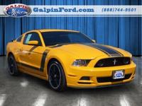 2013 Ford Mustang 2dr Car Boss 302 Our Location is: