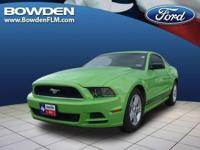 2013 FORD MUSTANG 2dr Car V6. Our Location is: Bowden