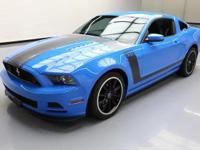 2013 Ford Mustang with Boss Interior Package,5.0L V8