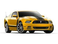2013 Ford Mustang Boss 302 Red HiPo 5.0L V8 32V Ti-VCT