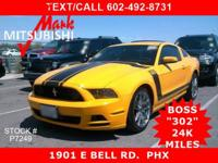 ** HERE IT IS !! ** THE NEWLY DESIGNED '13' BOSS 302 **