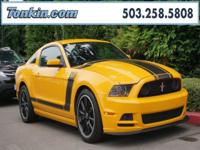 WOW!!! Check out this. 2013 Ford Mustang Boss 302