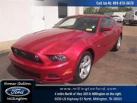 Mustang GT 2D Coupe 5.0L V8 Ti-VCT 32V RWD Red Metallic
