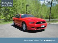 This 2013 Ford Mustang is ready for summer. Easy.