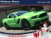 Options:  2013 Ford Mustang L@@K ~ Just Arrived ~ 2013