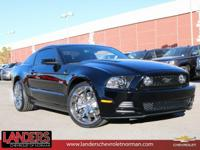 Black 2013 Ford Mustang GT RWD 6-Speed Manual 5.0L V8