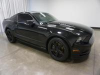 2013 Ford Mustang Black GT 6-Speed Manual RWD 5.0L V8