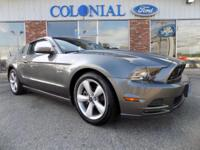 2013 Ford Mustang GT 5.0 Coupe!! Clean CARFAX Vehicle