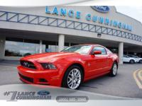 CARFAX One-Owner. 2013 Ford Mustang V6 Premium Race Red