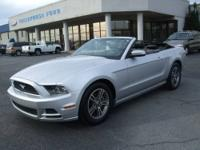 Late Model! 2013 Ford Mustang Convertible Premium. 3.7L