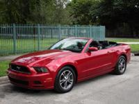 Options:  2013 Ford Mustang V6|Come And Visit Us At