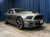 Clean Carfax Convertible with Premium Shelby Wheels!