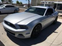 This 2013 Ford Mustang V6 features a hill start assist,