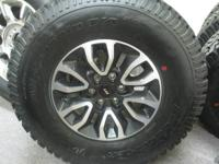 2013 FORD RAPTOR SVT WHEELS ON BF GOODRICH ALL TERAIN