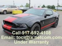 Call  if interested. 2013 Ford Shelby GT500 Coupe in