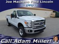 This 2013 Ford Super Duty F-250 SRW 4WD Reg Cab 137 XLT