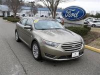 CLEAN CARFAX 2013 FORD TAURUS LIMITED TRIM LEVEL3.5L V6