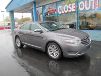The 2013 Ford Taurus Limited is a pleasing