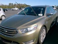 Green 2013 Ford Taurus Limited FWD 6-Speed Automatic