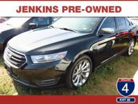 Low Miles! This 2013 Ford Taurus Limited will sell fast