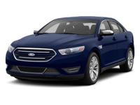 Come see this 2013 Ford Taurus Limited. Its Automatic