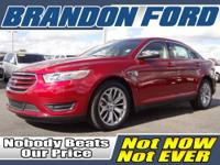 Only 16K miles on this Ford Taurus Limited - My Touch