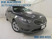 CARFAX One-Owner. Gray 2013 Ford Taurus SEL FWD 6-Speed
