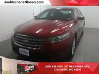 Clean CARFAX. Red 2013 Ford Taurus SEL FWD 6-Speed