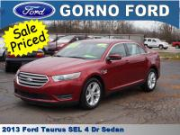 2013 FORD TAURUS SEL. CARFAX 1-OWNER VEHICLE! INTERNET