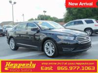 Clean CARFAX. This 2013 Ford Taurus SEL in Black