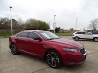 2013 Ford Taurus SHO is loaded with Leather,