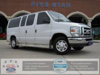 2013 Ford E-150 XLT 8 Passenger Oxford White FORD