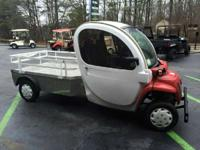 the GEM eL XD two-passenger electric utility vehicle