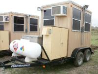 2013 General Shelters Custom Security Trailer, Many